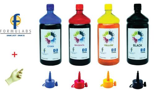 4 litros refil de tinta p/ impressora hp8000 hp8100 hp8600