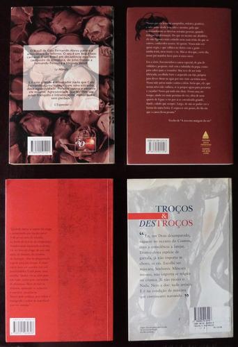 4 livros caio f. abreu guimarães rosa lya luft joao silvério