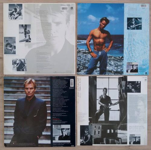 4 lp vinilos sting 1985 singles dream of the blue turtles