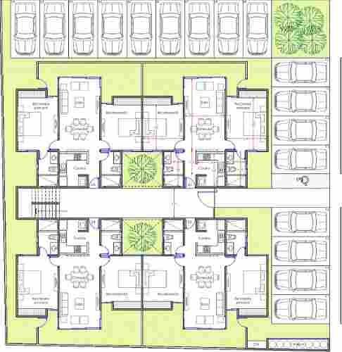 4 lujosos departamentos en planta baja, con jardín, benito juárez norte, mérida.