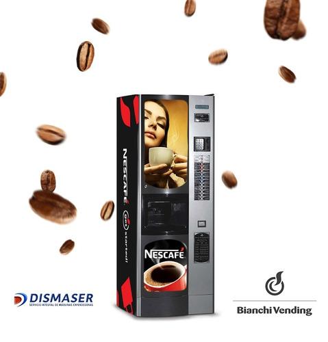 4 máquinas expendedoras café en grano automáticas dismase