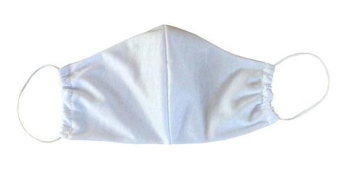 4 máscaras de rosto reutilizável em tecido pano c/ forro