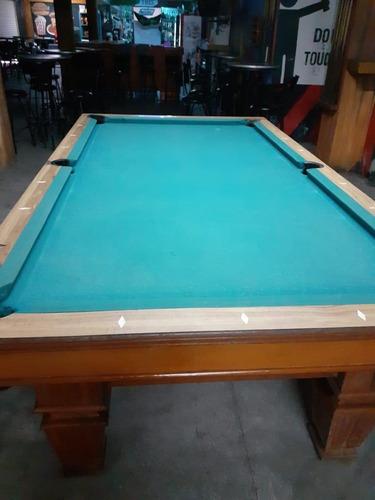 4 mesas de billar brunswick. 1 profesional y 3 semi-profesio