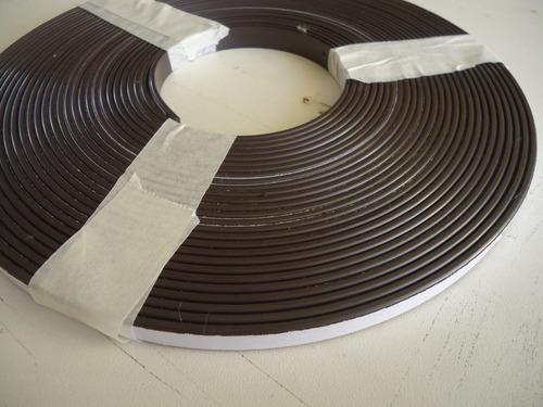 4 metros imã para artesanato adesivado .12mm x 2mm