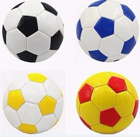4 Mini Bola De Futebol Tamanho 2 Couro Sintético Oferta - R  69 53201b9be885c