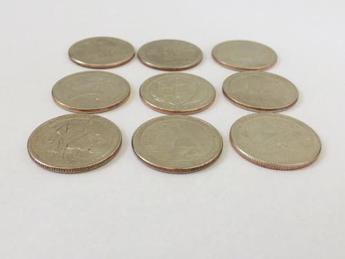 4 moedas americanas serie parks quarter dollar