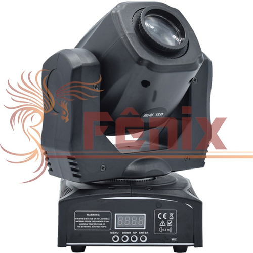 4 moving head spot led osram 60w 8 cores + 8 desenhos dmx dj