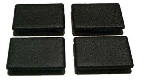 4 negro vagón estaca tapa del orificio para enchufes dodge