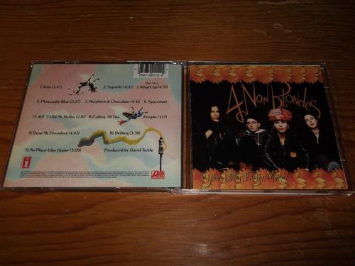 4 non blondes - bigger better faster cd imp ed 1992 mdisk