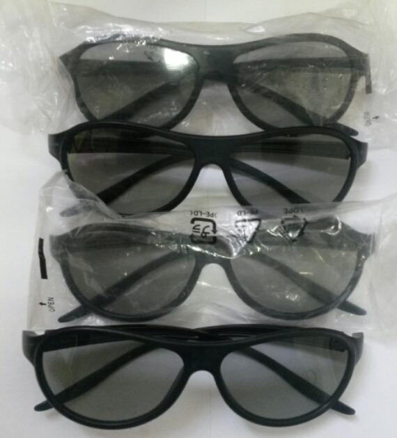 4e5f604033fd0 4 Óculos Cinema 3d Lg Ag-f310 Com Caixa. - R  130,00 em Mercado ...