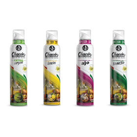 4 Pack Aceite De Oliva Extra Virgen Spray Chacon (n+l+a+r)