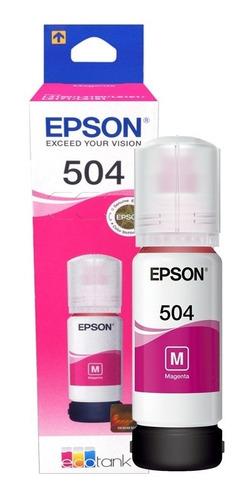 4 pack botella tinta epson t504 l4150 l4160 l6161 l6171