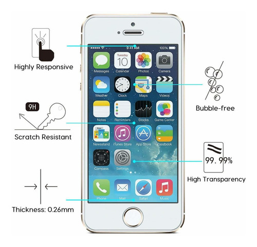 4 pack screen omoton vidrio templado protector compatible w