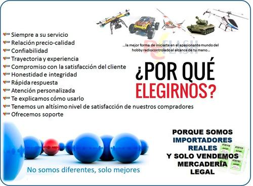 4 palas helices drones cuadricopteros wl toys - 14,5cm largo