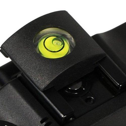 anwenk c/ámara linterna tapa de zapata con nivel de burbuja para Canon Nikon Panasonic Fujifilm Olympus Pentax Sigma DSLR//SLR//Evil c/ámara/ /Pack de 2