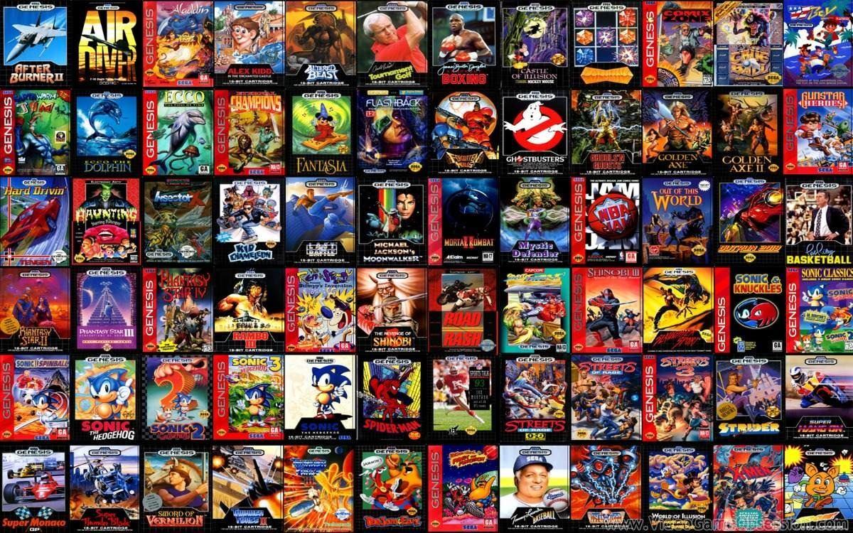 4 Paquetes De Juegos Neo Geo Snes Atari Y Sega Para Pc