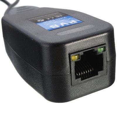 4 pares cat5e rj45 6 conector coaxial cctv bnc poder video b