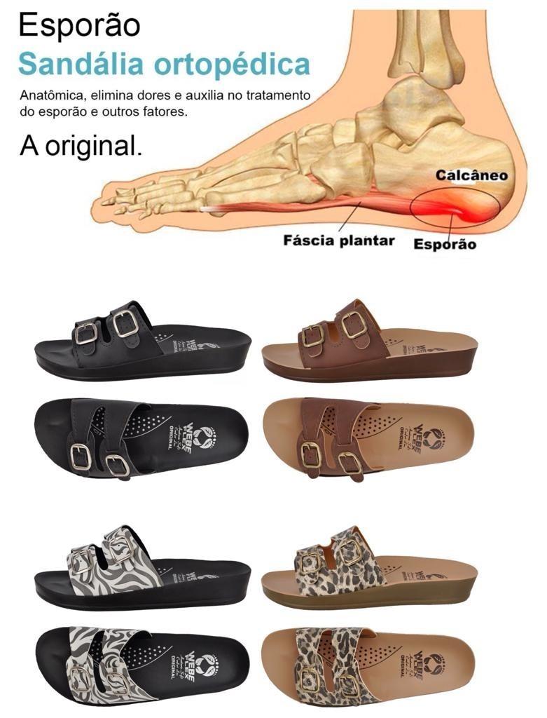 e41a38959f 4 Pares Chinelo Sandália Ortopédica Anatômica Confortável - R  149 ...