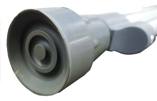 4 pares de muletas d aluminio premium ch / m/ g envio gratis