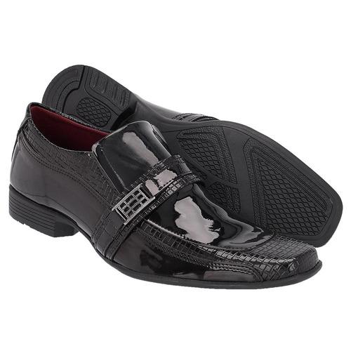 4 pares de sapato social em verniz