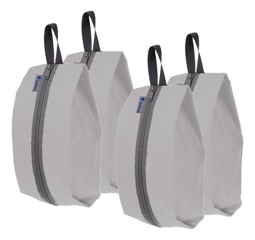 4 pcs de bolsa de lavanderia zapatos conservación accesorio