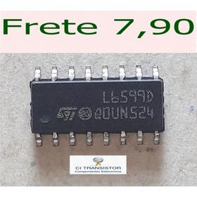4 Peças L6599d Smd - L6599 Smd - L 6599d Smd Original