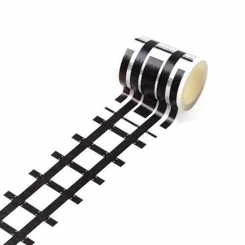 4 peças washi tape fita decorativa estrada transito