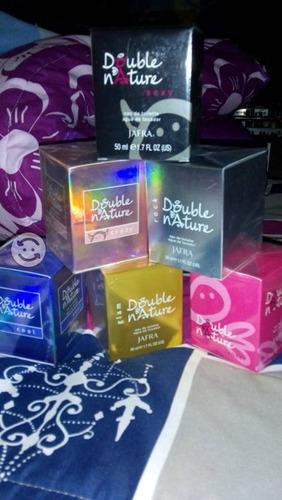 4 perfumes double nature(angelitos y diablitos)