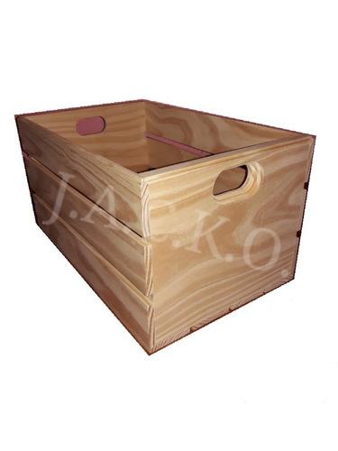 4 piezas huacales cajas de madera repisas librero decoración