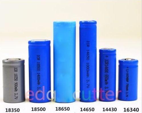 4 pilas litio recargables 3.7v 4000mah marca ultrafire 18650