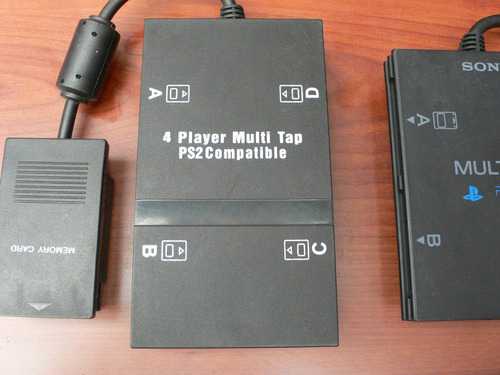 4 player multitap/play 2/ps2