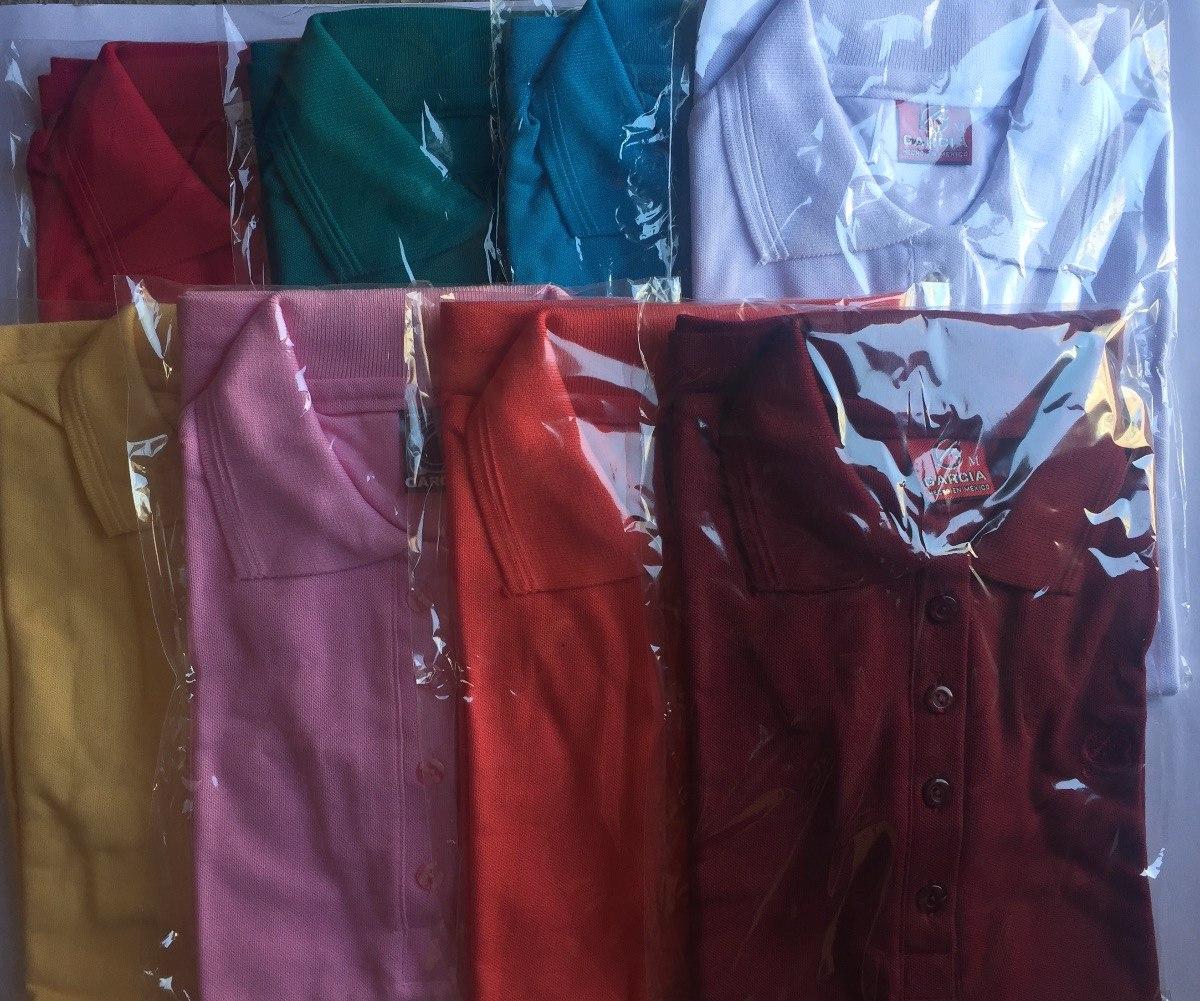 4 Playeras Tipo Polo Dama Blusa Colores 4 Piezas -   315.00 en ... d7da45d226fc1