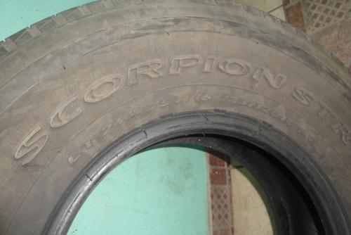 4 pneus 265 r16