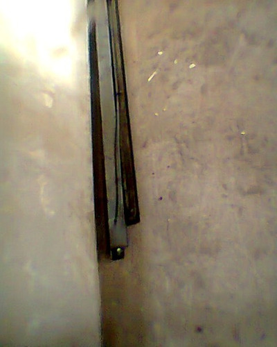 4 portas de aço para barracão usadas (conservada) com molas