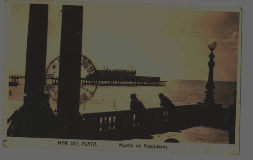 4 postales muy antiguas