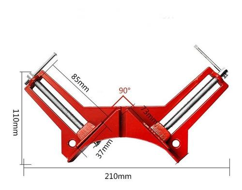 4 prensas esquineras ángulo a 45 grados para carpintero