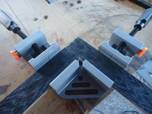 4 prensas esquineras uso rudo 65mm herramienta carpinteria