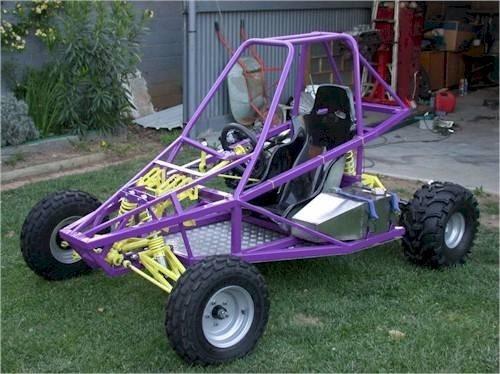 4 projetos gaiola kart cross buggy