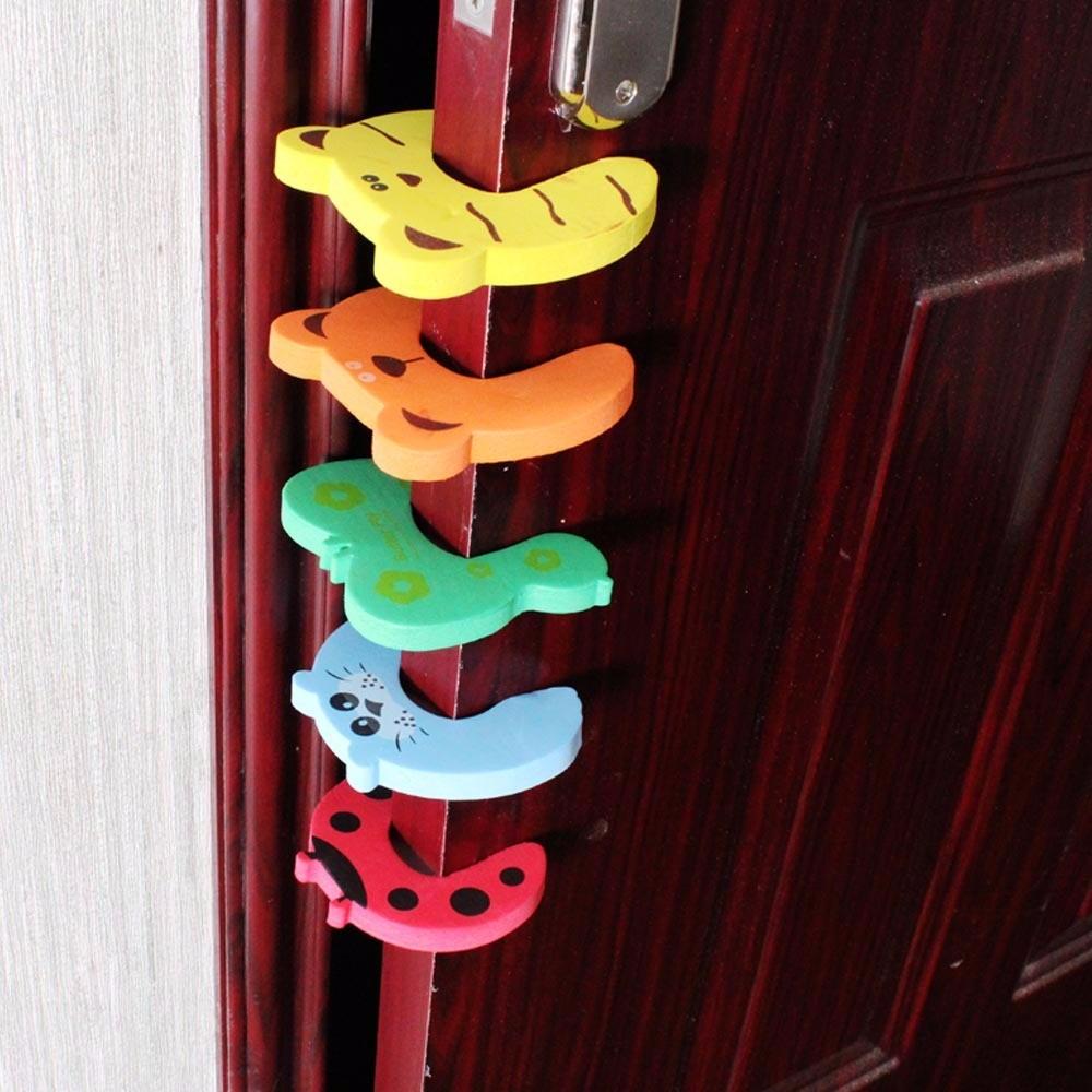 4 protectores de seguridad para puertas ni os y bebes - Puertas de seguridad para ninos ...