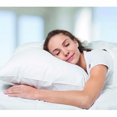 4 protetores capas de travesseiro impermeável 49cm x 69cm