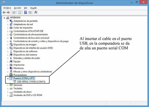 4 pzs. cable adaptador usb serial db9 rs232. windows 8