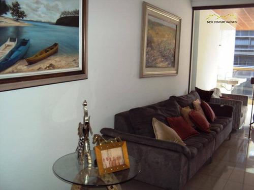4 quartos com planta irretocável na praia da costa - ap2372