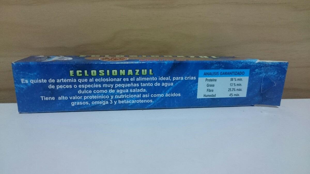 4 quiste de artemia peces alimento en mercado libre for Artemia para peces