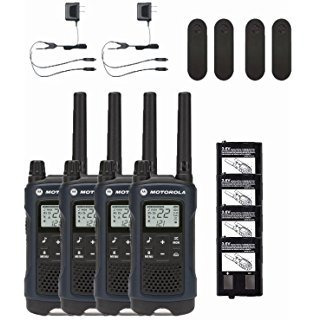 4 radio comunicadores motorola walk talk talkabout t460 56km