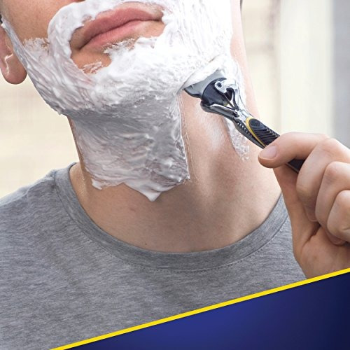4 recambios para cuchillas de afeitar gillette para hombre.