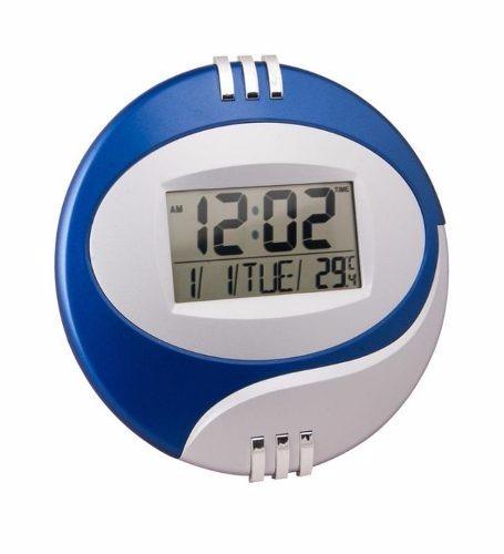 f3fb989e95c 4 Relógio Parede 27 Cm Alarme Digital Calendário Termômetro - R  180 ...