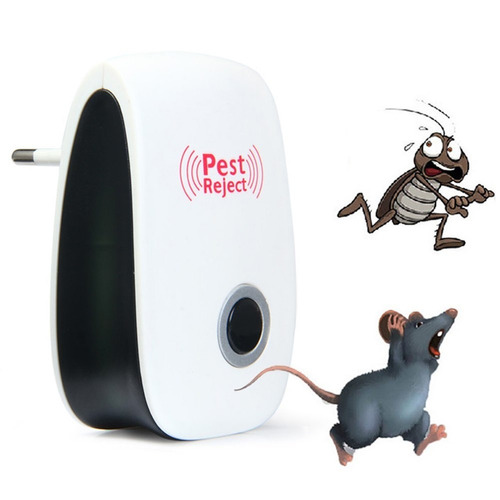 4 repelente insetos ultrasonico pest repeller  bivol