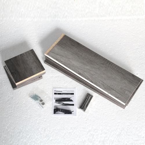 4 repisas flotantes minimalista librero melamina 45x15 cm