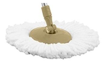 4 repuestos mopas de balde trapeador giratorio exahome mop
