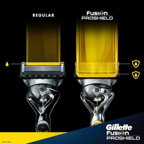 4 repuestos para maquina afeitar gillette fusion5 proshield